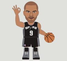 NBAToon of Tony Parker, player of San Antonio Spurs by D4RK0