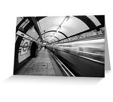 Hampstead Underground Tube Station London Greeting Card