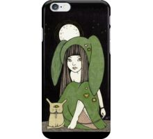 My Little Green Eyed Monster iPhone Case/Skin