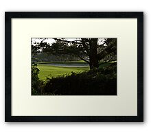 Serenity at the Golf Course Framed Print