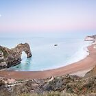 Earth Shadow over Durdle Door by mattcattell