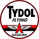 Tydol Flying Gasoline vintage sign by htrdesigns
