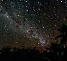 Night Sky of Cocos by KarenWillshaw