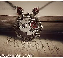 Gothic Victorian Steampunk Necklace by SKAIOR Designs