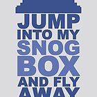 Snog Box (Tardis) by Darren Carnall