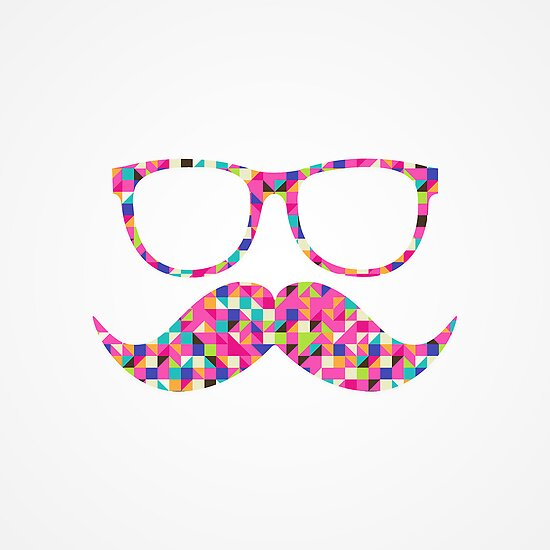 girly mustache wallpapers - photo #2