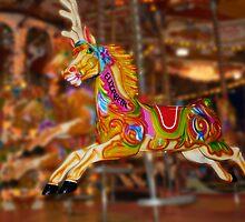 Carousel Horse Elizabeth by Chris Day