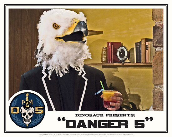 "Danger 5 Lobby Card #2 - ""Bangkok Sunrise"" by dinostore"