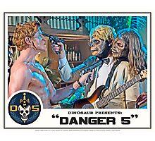 "Danger 5 Lobby Card #7 - ""Yeah, let's pop him"" Photographic Print"