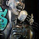 Graffiti singer by VintagePT