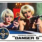 "Danger 5 Lobby Card #9 - ""Swiss Kiss"" by Danger Store"