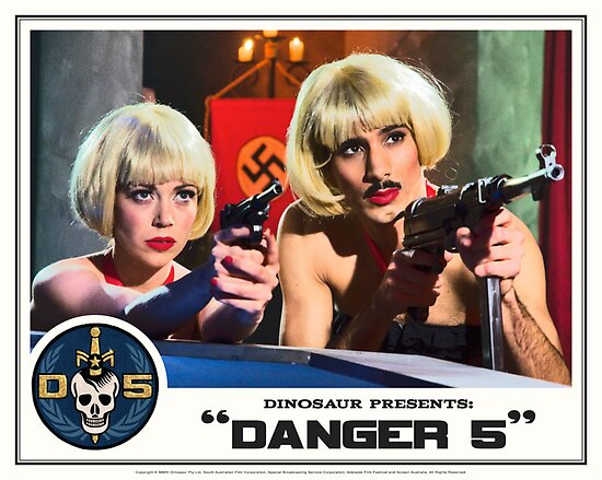"Danger 5 Lobby Card #9 - ""Swiss Kiss"" by Danger Store"
