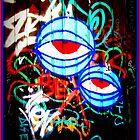 Graffiti eyes bright by VintagePT
