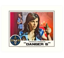 """Danger 5 Lobby Card #10 - """"Seed of the Fatherland"""" Art Print"""