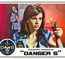"Danger 5 Lobby Card #10 - ""Seed of the Fatherland"" by dinostore"