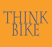 Bike, Bicycle; Motorbike; Think Bike in blue by TOM HILL - Designer