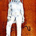 Graffiti Girl on Swing by VintagePT
