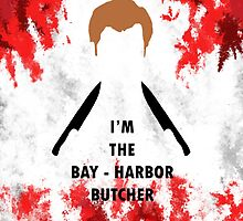 Bay Harbour Butcher iphone case by MrSaxon