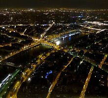 View from Tour d'Eiffel. by ChloeLouise