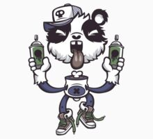 Graffiti Panda. by LewisJamesMuzzy