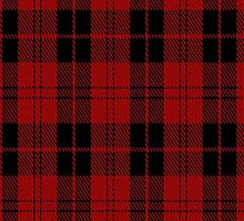01881 Campbell of Armaddie Clan/Family Tartan Fabric Print Iphone Case by Detnecs2013