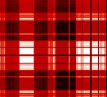 The Plaid Background - Red by LividRhythm