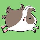 Leaping Guinea-pig ...Grey and White by zoel