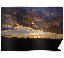 ~rocky mountain sunset~ Poster