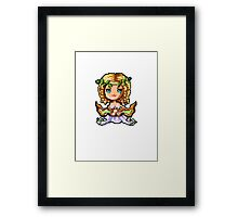 Pixel Sona, Muse Of The Strings Framed Print