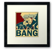 Bang - Spike Spiegel Framed Print