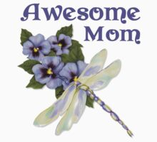 Purple Pansies for Awesome Mom by SpiceTree