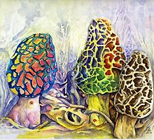 Morel Artistry by Sherry Cummings