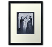 Nocturn 1: Dramatis Personae, the Characters Framed Print