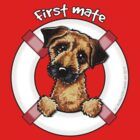 Border Terrier :: First Mate by offleashart