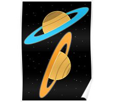 Now you're thinking with planets! Poster