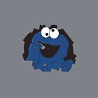 cookie monster case by niko619