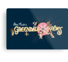 Greendale Babies Metal Print