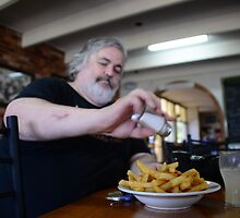 ASSAULTING  THE  CHIPS by Phil Woodman
