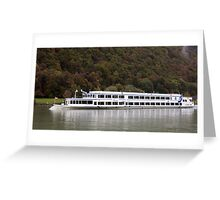 Passau From The Danube Greeting Card