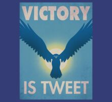Victory Is Tweet! by Justonescarf