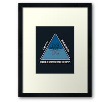 Hypothetically Speaking Framed Print
