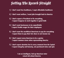 Setting the Record Straight (W) by Rhylies