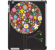 Whimsical Colorful Spring Flowers Pop Tree iPad Case/Skin