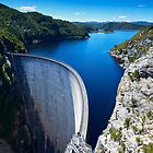 Gordon River Dam by Chris  Randall