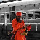 Smoking Saint by Dhrupal Soni