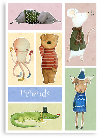 Friends by Judith Loske