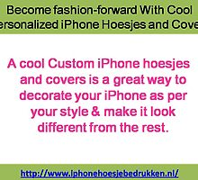 To design your own custom case for iPhone. by iphonehoesje