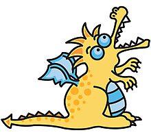 Magic Dragon :: Yellow Photographic Print