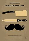 No195 My Gangs of New York minimal movie poster by Chungkong