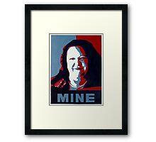 "Gina Minehard ""The Audacity of Mine"" Framed Print"